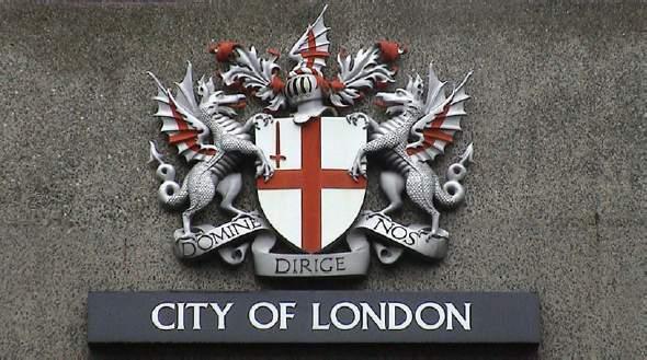 Lo stemma della Città di Londra
